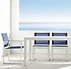 Aegean Aluminum Rectangular Dining Table