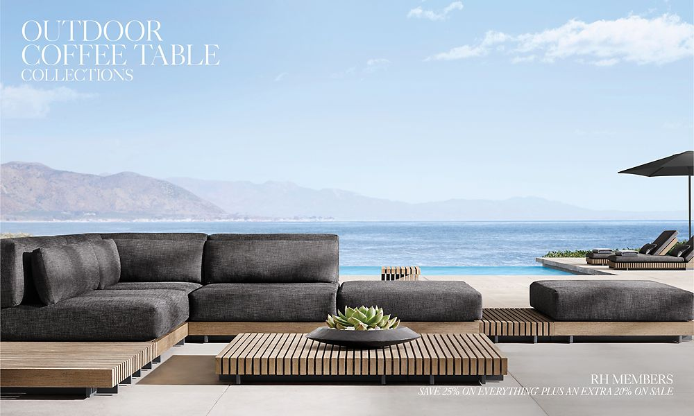 Shop Outdoor Coffee Table Collections