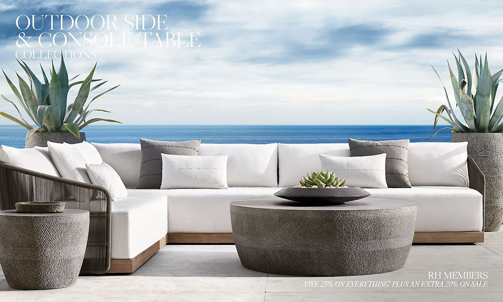 Shop Outdoor Side and Console Table Collections
