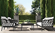 shop Greystone Graphite Metal Low Seating
