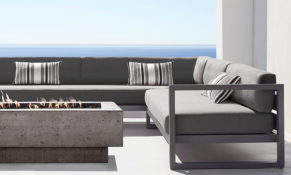 shop Aegean Slate Sectional and Bar
