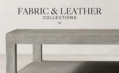 Shop Fabric & Leather Coffee Table Collections