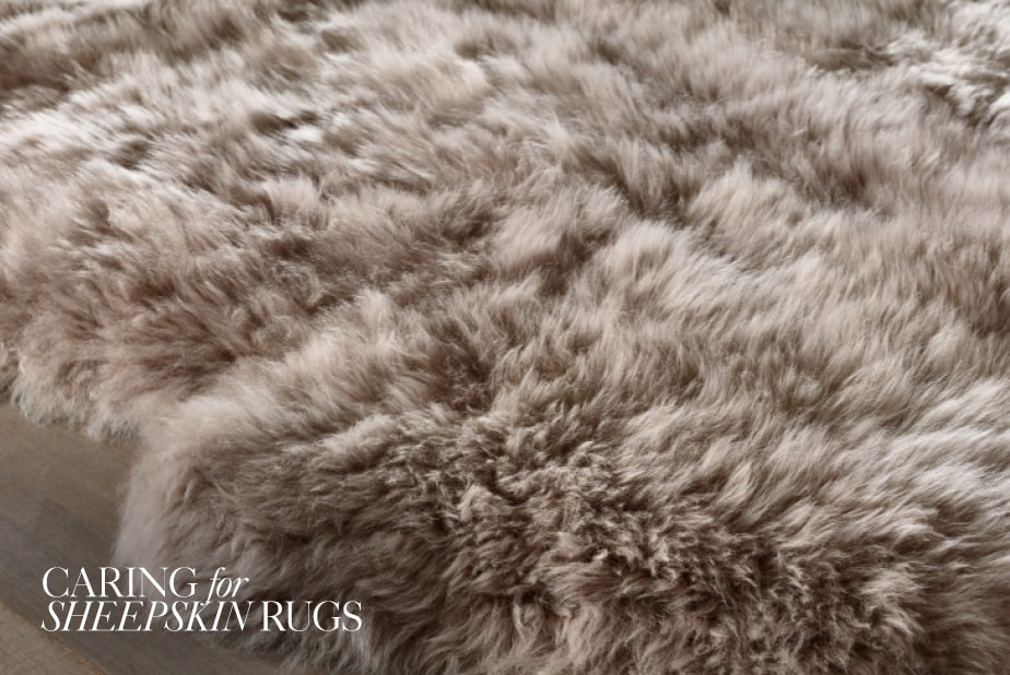 Caring for Sheepskin Rugs