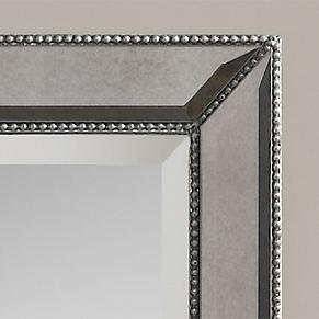 Leaner Mirror. Uttermost Demetria Oversized Wooden Wall Or Leaner ...