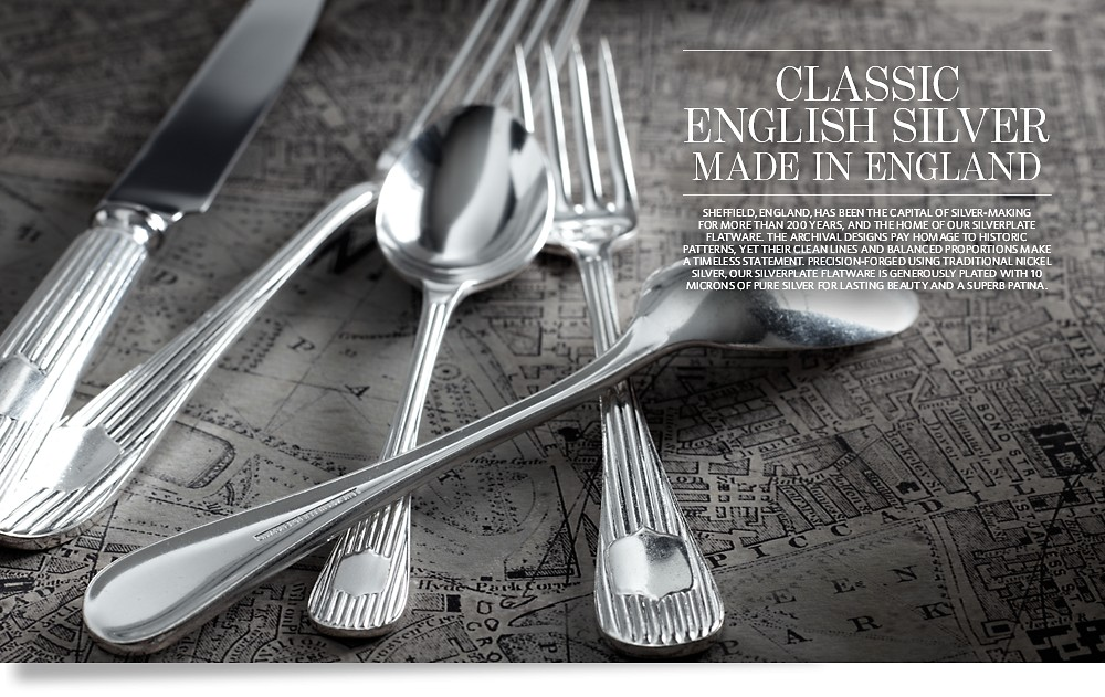 Classic English Silver - Made in England