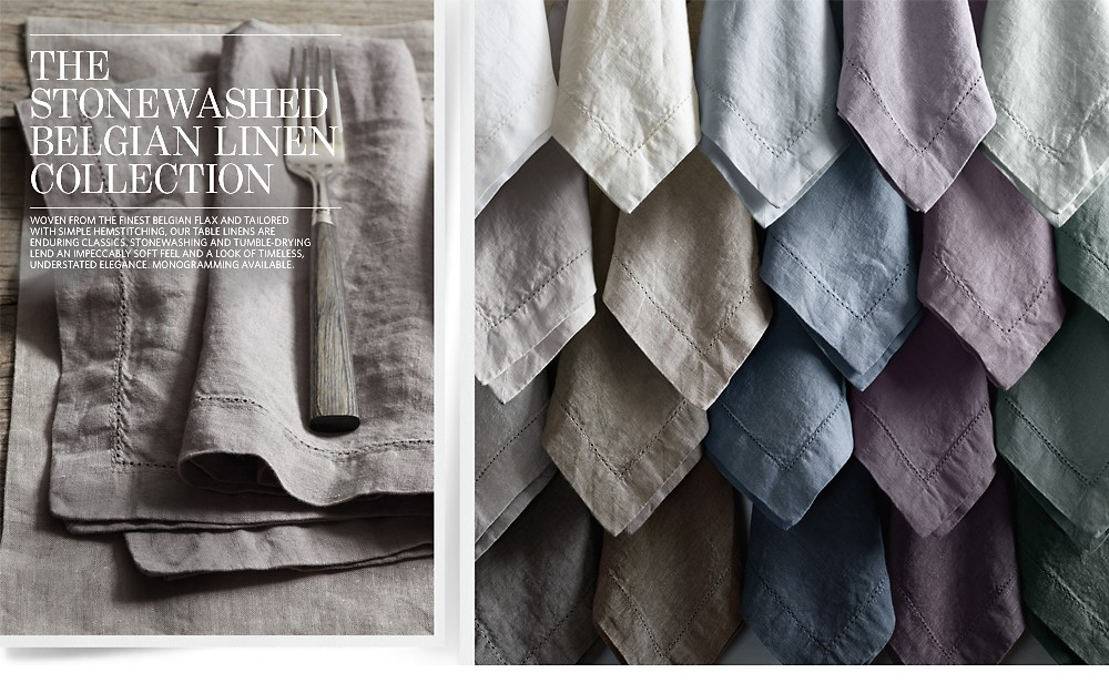 The Stonewashed Belgian Linen Collection