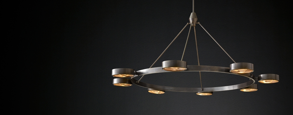 Chandelier collections rh modern montesquieu round collection mozeypictures Images