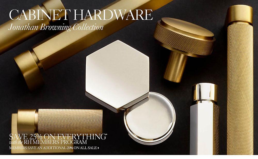 Jonathan Browning Hardware Collections