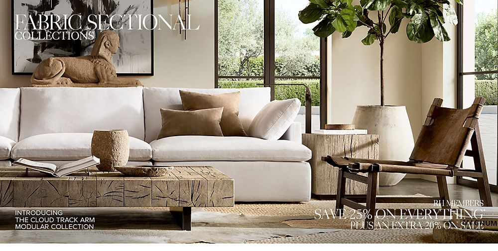 Shop fabric sectionals