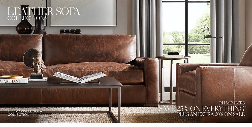 Our Leather Sofa Collections