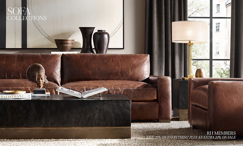 Sofa Collections | RH