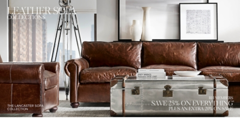 ... Shop Leather Sofa Collections