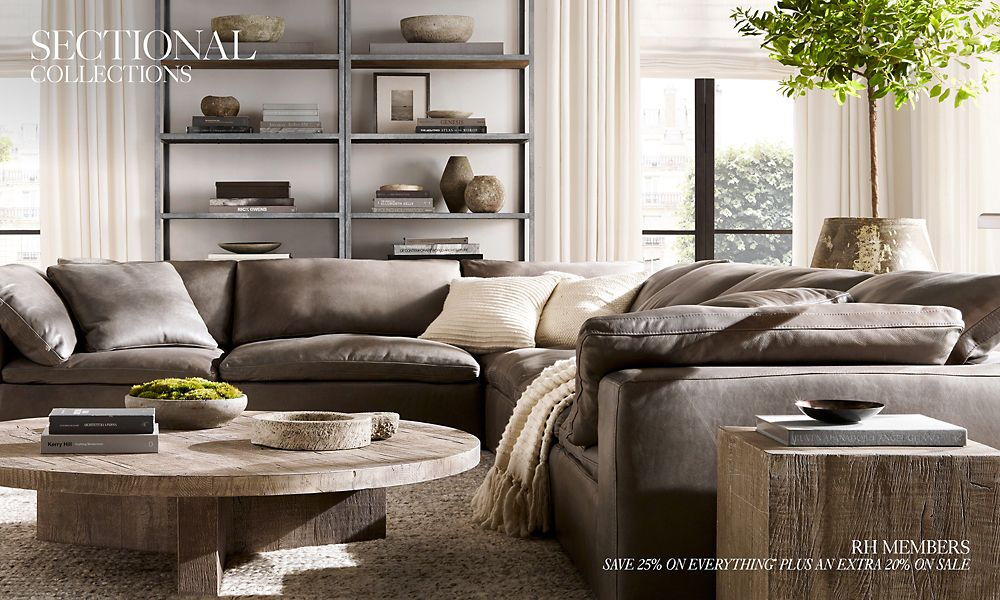 Fabulous Sectional Collections Rh Caraccident5 Cool Chair Designs And Ideas Caraccident5Info