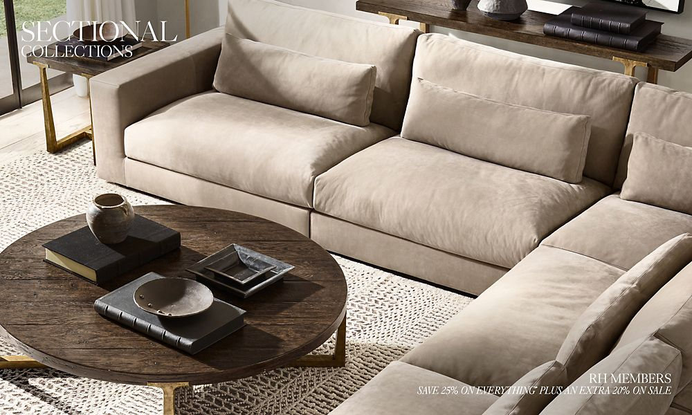 Astounding Sectional Collections Rh Caraccident5 Cool Chair Designs And Ideas Caraccident5Info