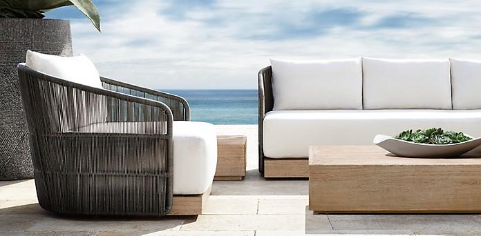 Havana Furniture Collection Graphite Rh, Restoration Hardware Look Alike Outdoor Furniture