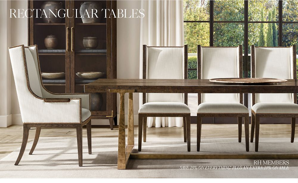 Shop All Rectangular Table Collections