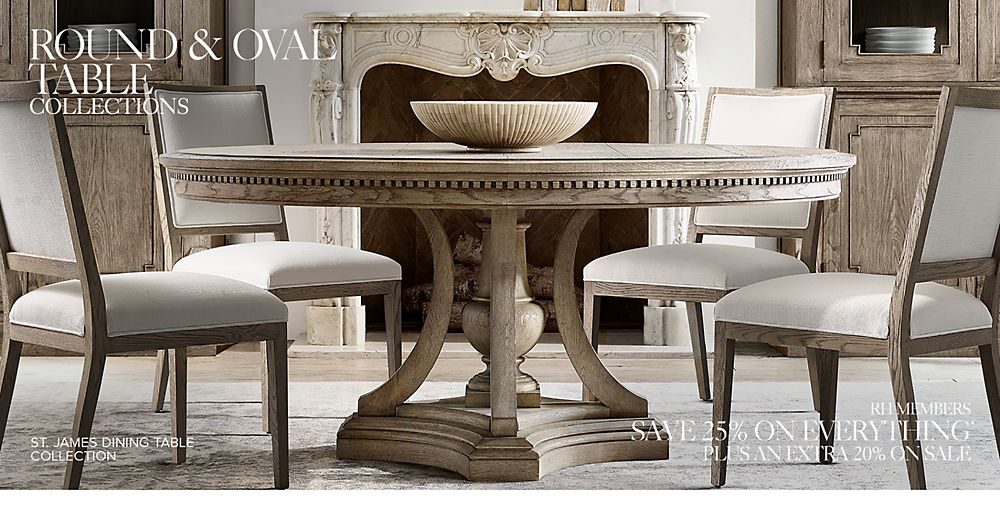 Shop Round Dining Table Collections
