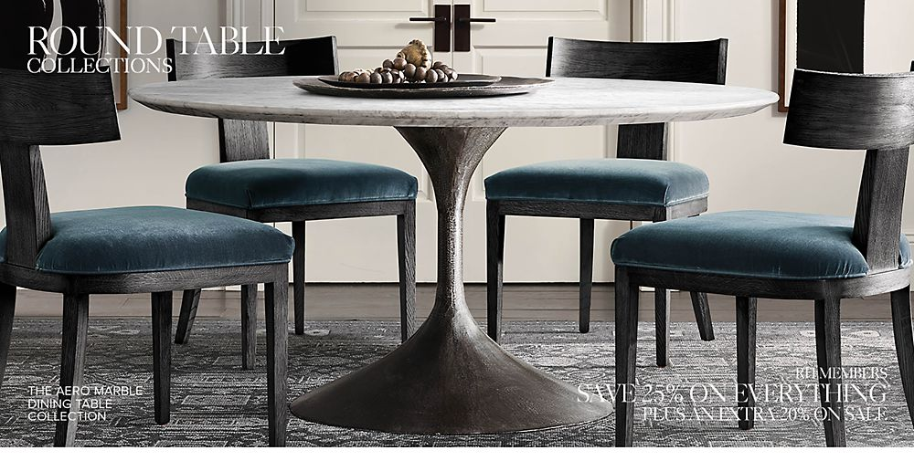 Round Oval Table Collections