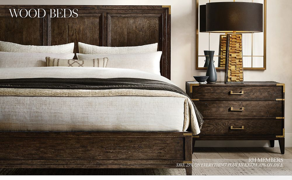 Shop All Wood Bed Collections