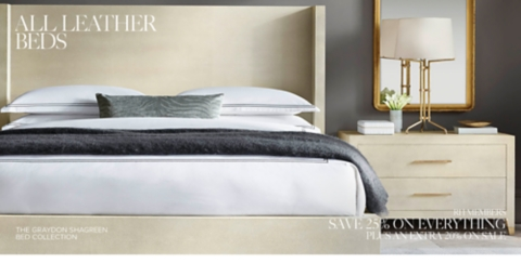 Lovely Shop Leather Bed Collections