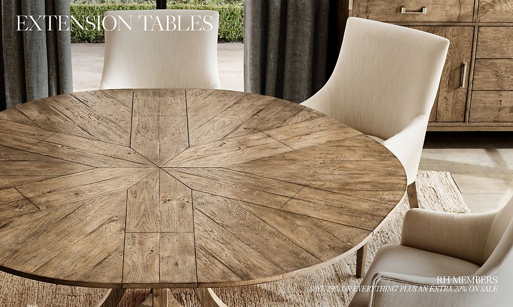 Shop All Extension Table Collections