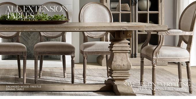 extension tables rh rh restorationhardware com restoration hardware dining room tables round restoration hardware dining room tables and chairs