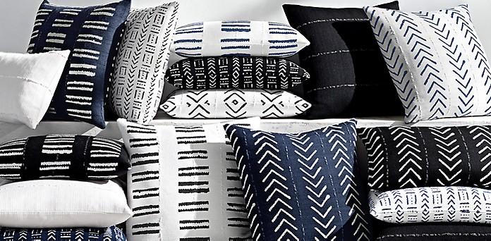 outdoor pillow collections rh modern
