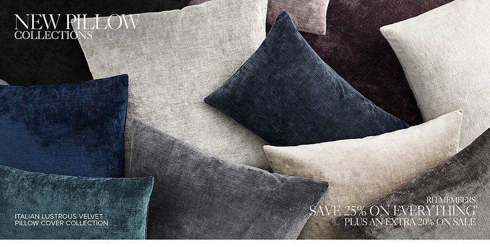 Shop New Pillow Collections
