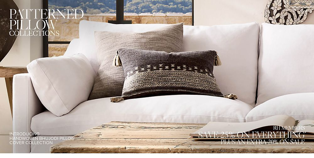 Shop Patterned Pillow Collections