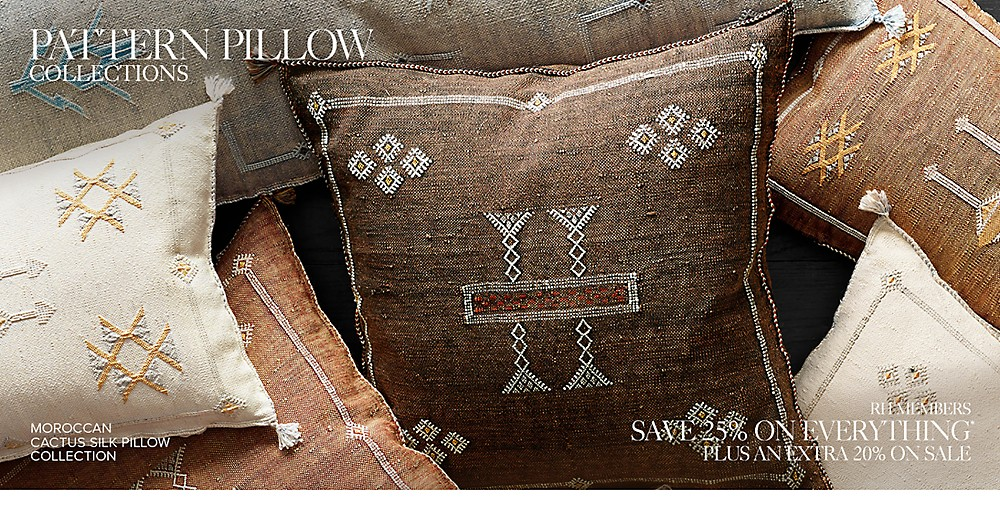 pattern pillow collections