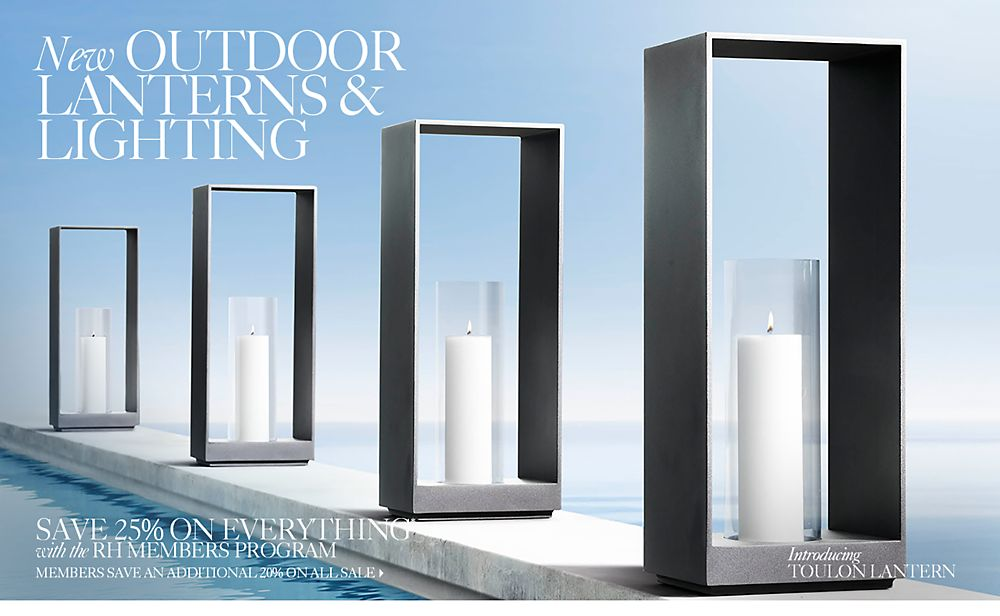 New Outdoor Lanterns & Lighting
