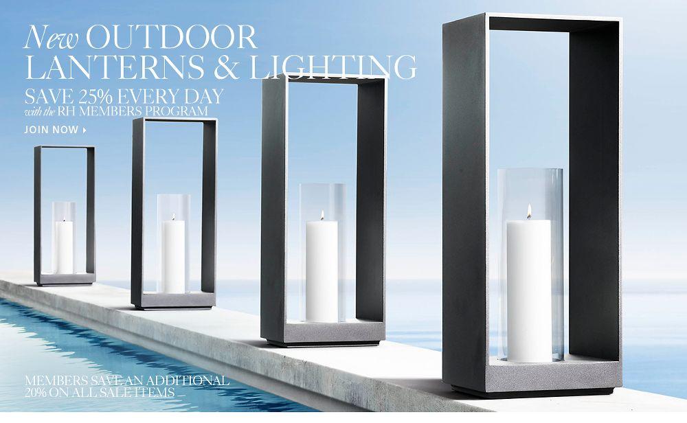 New Outdoor Lanterns & Lighting