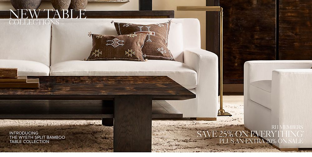 New Table & Trunk Collections