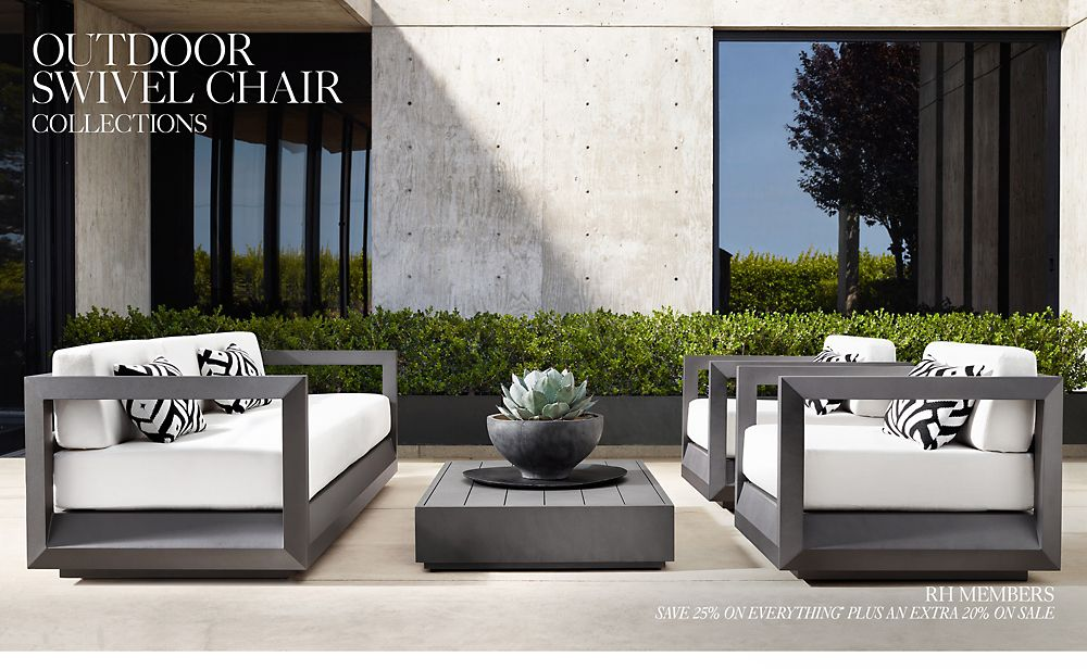 Shop Outdoor Swivel Chair Collections