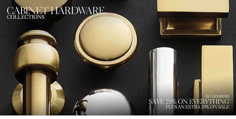 Cabinet Hardware & Hook Collections | RH