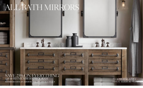 Captivating Bath Mirrors