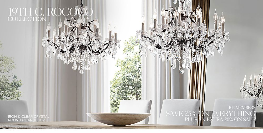 Introducing the Rococo Lighting Collection