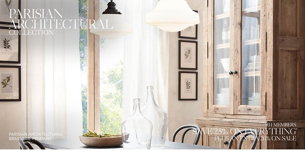 Introducing the Parisian Architectural Lighting Collection