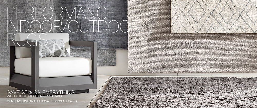 High Performance Indoor Outdoor Rug Collections Rh Modern