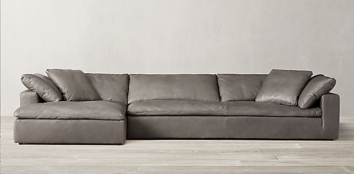 rh cloud sectional the cloud sofa restoration hardware sectional cloud 1963