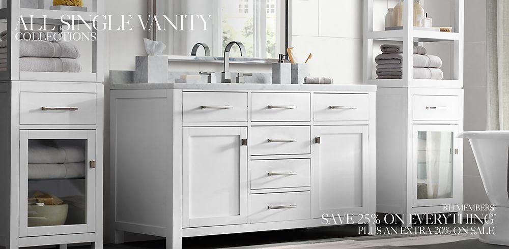 Shop Single Bath Vanity Collections