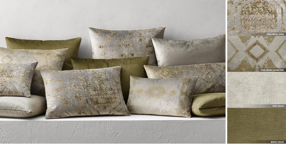 Velvet Pillows Rh