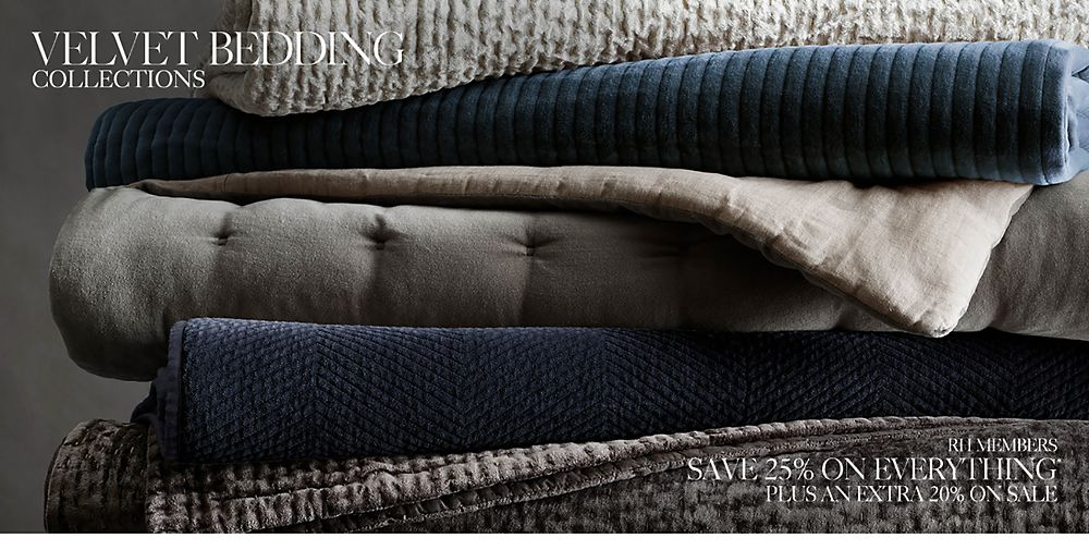 Velvet Bedding Collections