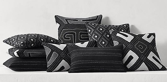 Completely new Pillow Collections | RH BG05
