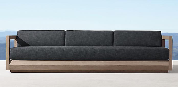 Paloma Teak Sofa Collection Rh