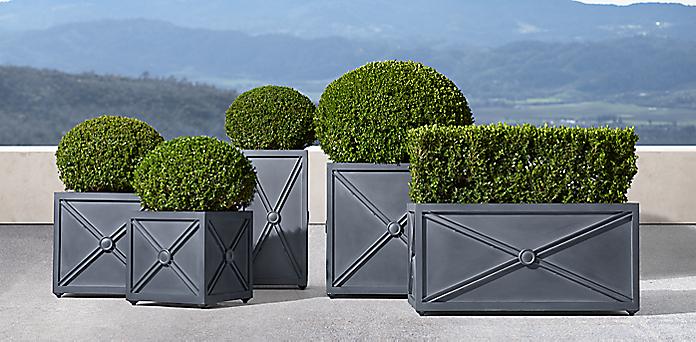 Estate Zinc X Panel Collection
