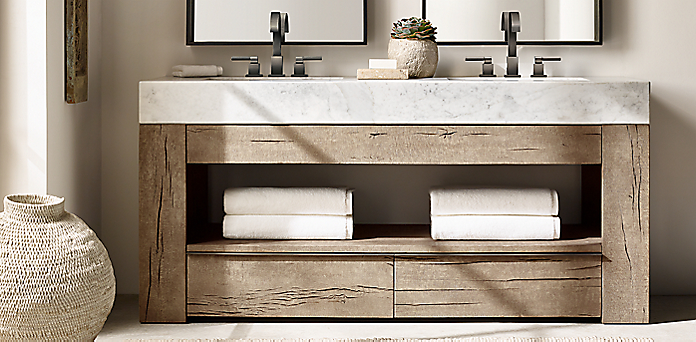 Aspen French Oak Bath Collection Rh