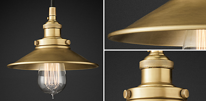 Introducing 20th c factory filament metal shade collection