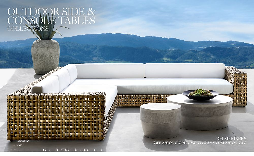 Side & Console Tables   RH