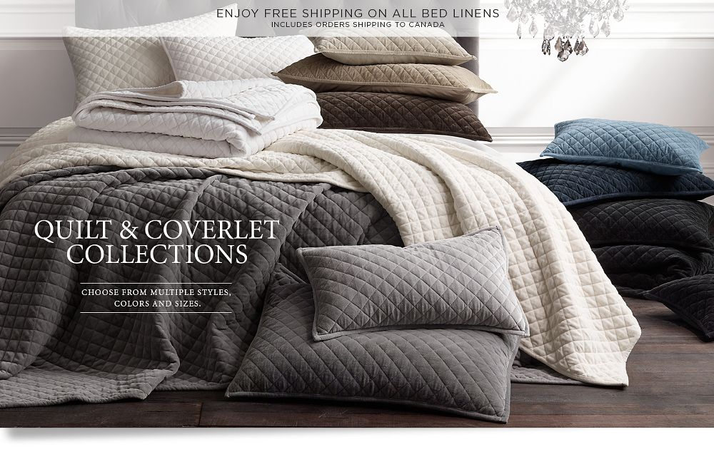 Quilt and Coverlet Collections